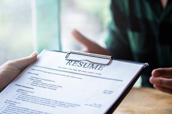 Resume on clipboard