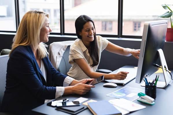 Online customer support department