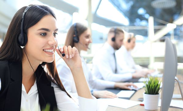 Outsourced call center agents