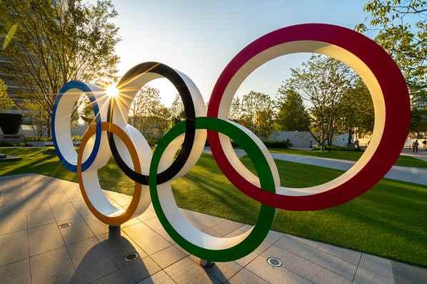 Olympics 2020 rings