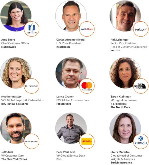 Customer Service & Experience 2021 Speakers