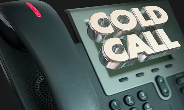Cold calling telephone