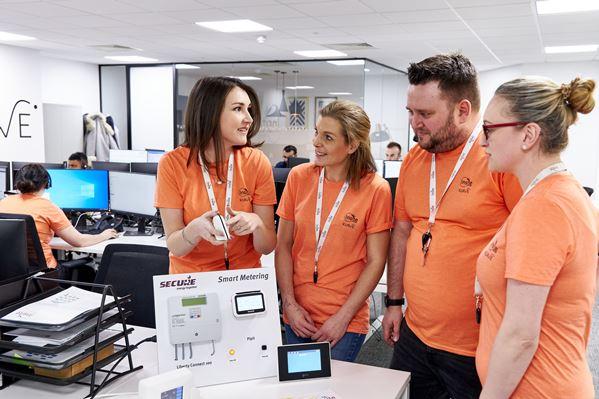 Insite Energy's Customer Service Team