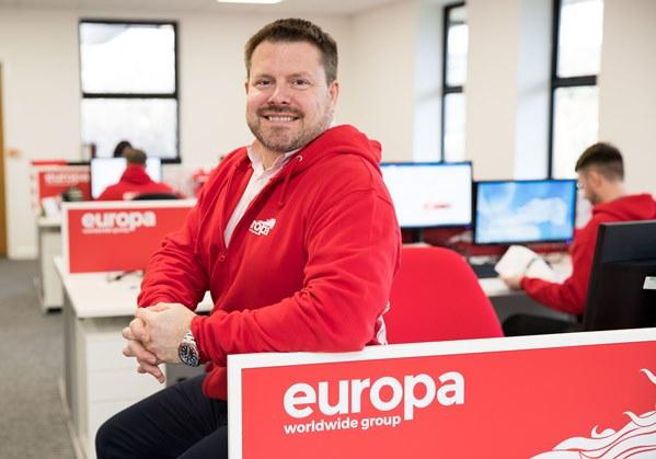 Mat Jobson, General Manager, Europa Contact Centre