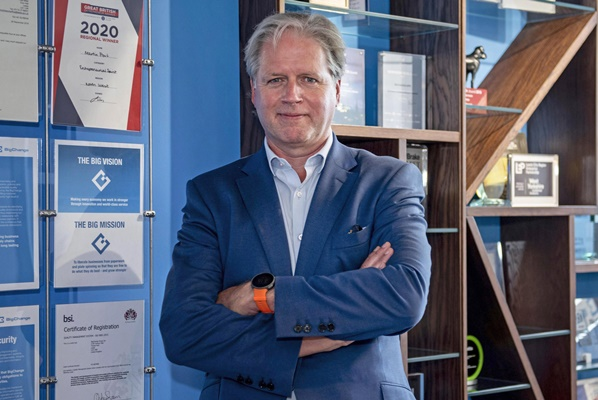 Richard Warley, CEO, BigChange